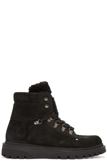Moncler - Black Egide Boots