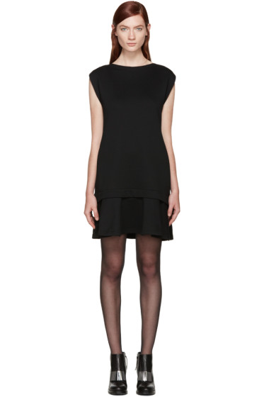 McQ Alexander Mcqueen - Black Peplum Dress