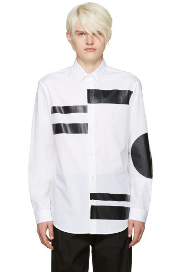 McQ Alexander Mcqueen - White Sheehan Geometric Shirt