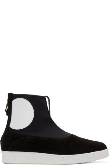 McQ Alexander Mcqueen - Black Takeshi Boots