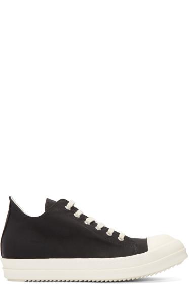 Rick Owens Drkshdw - Black Nylon Sneakers