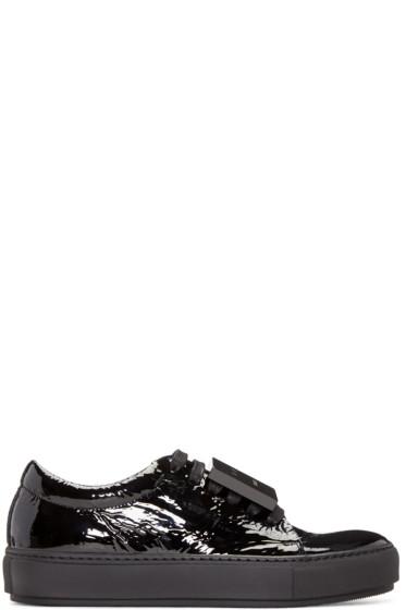 Acne Studios - Black Patent Adriana Sneakers
