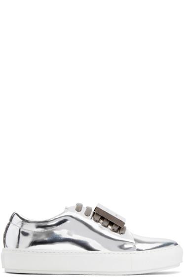 Acne Studios - Silver Adriana Sneakers