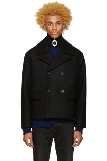 Acne Studios - Black Merge Peacoat