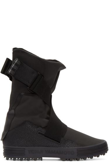 Y-3 - Black Sno Foxing Boots