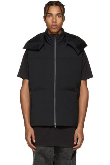 Y-3 - Black Matte Down Vest