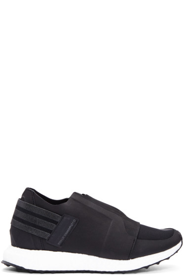 Y-3 - Black XRay Zip Low Sneakers