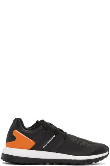 Y-3 - Black Pureboost ZG Sneakers
