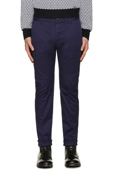 Dsquared2 - Blue Twiggy Boy Trousers
