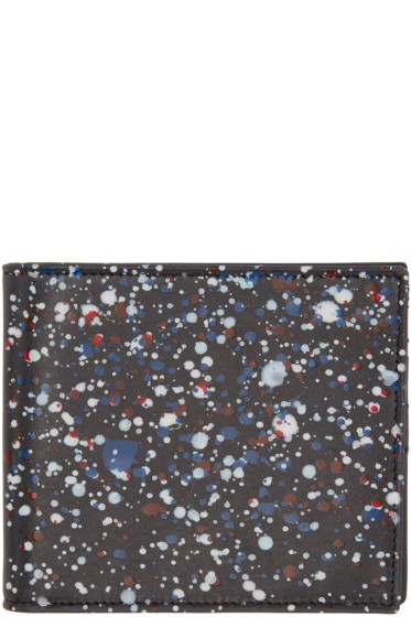 Maison Margiela - Black Paint Splatter Wallet