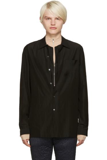 Maison Margiela - Black Layered Shirt