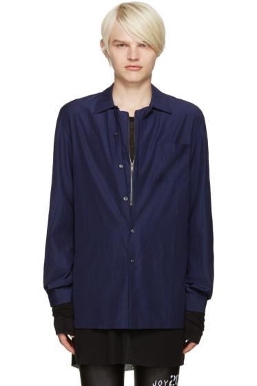 Maison Margiela - Navy Layered Shirt