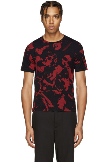 Maison Margiela - Black & Red Music T-Shirt
