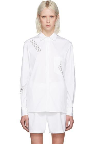 Christopher Kane - White Studded Shirt