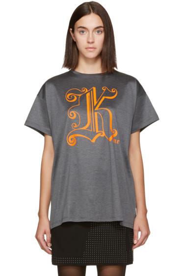 Christopher Kane - Grey 'Kane' T-Shirt