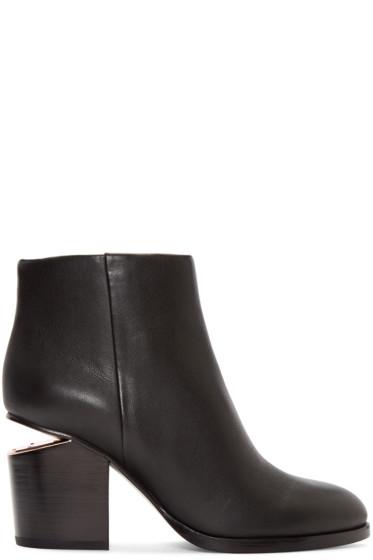 Alexander Wang - Black Gabi Ankle Boots