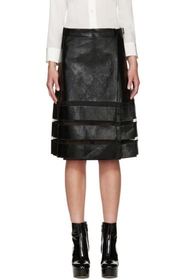 Marc Jacobs - Black Coated Skirt