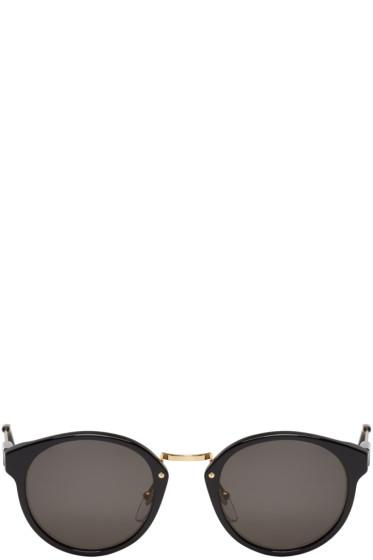 Super - Black Panama Sunglasses