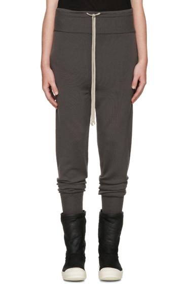 Rick Owens - Taupe Merino Wool Lounge Pants