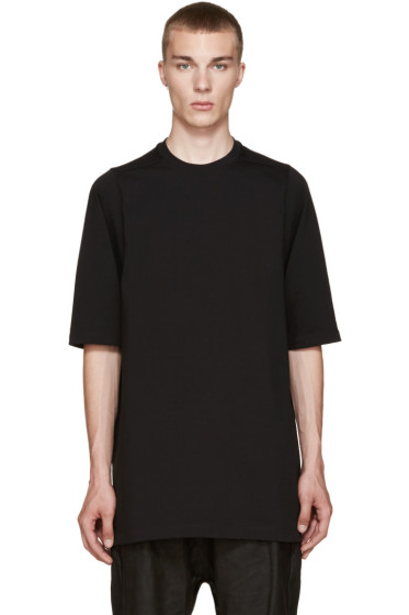 Rick Owens - Black Oversized T-Shirt