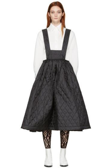 Comme des Garçons - Black Quilted Dress