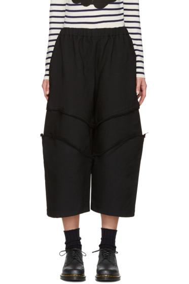 Comme des Garçons - Black Raw Edge Trousers