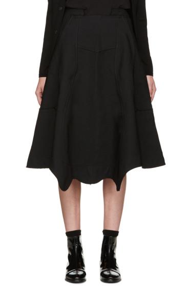 Comme des Garçons - Black Panelled Skirt