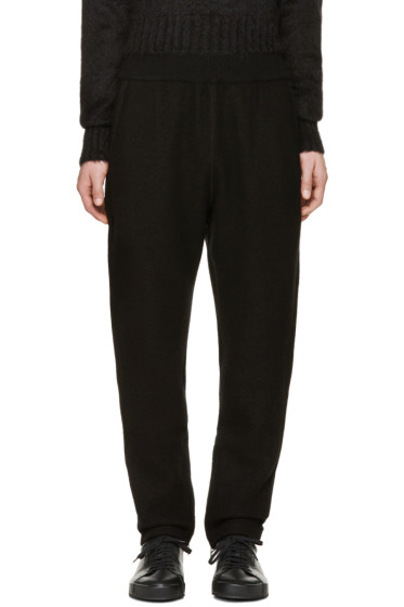 Jil Sander - Black Wool Lounge Pants