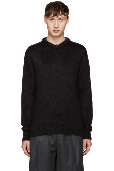 Jil Sander - Black Mohair Sweater