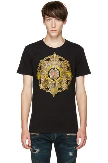 Balmain - Black New B Logo T-Shirt