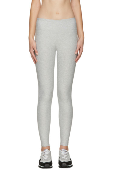 A.P.C. x Outdoor Voices - Grey Warmup Leggings