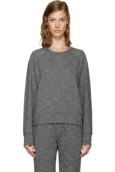A.P.C. x Outdoor Voices - Grey Sweat Running Pullover