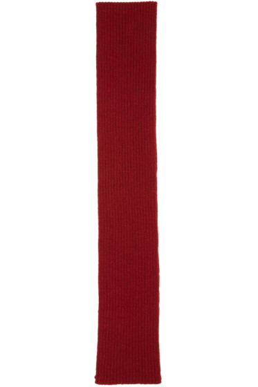 A.P.C. - Red Stan Scarf