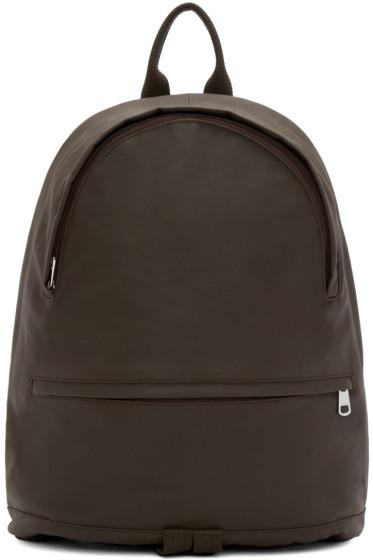 A.P.C. - Brown Coated Stefan Backpack
