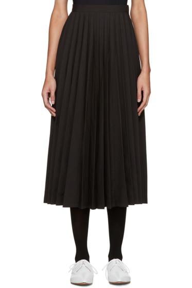 Junya Watanabe - Black Pleated Skirt