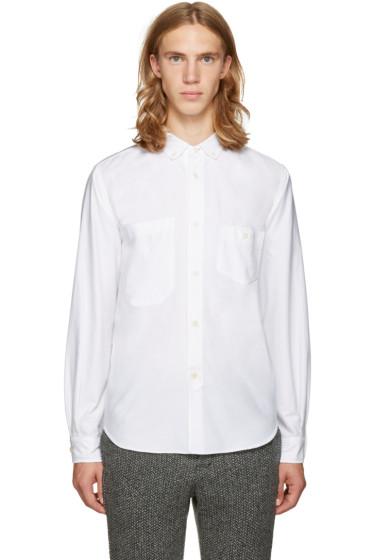 Junya Watanabe - Reversible White Pocket Shirt