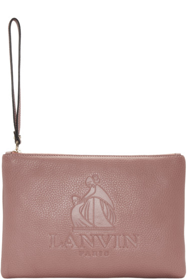 Lanvin - Pink Logo Pouch