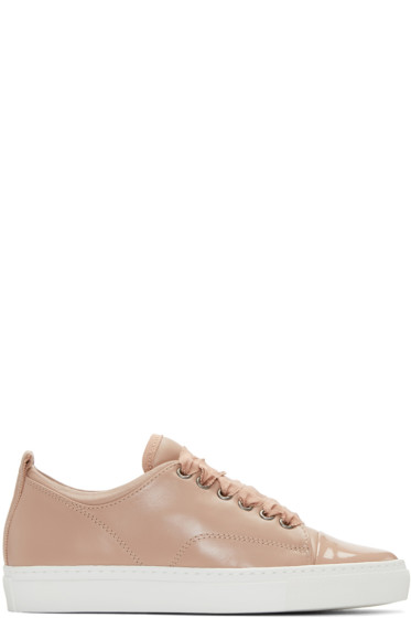 Lanvin - Pink Leather Sneakers