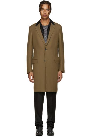 Lanvin - Tan Wool Coat