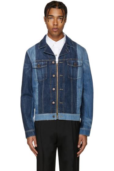 Lanvin - Blue Mix Match Denim Jacket