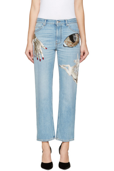 Alexander McQueen - Indigo Obsession Jeans