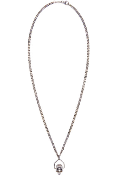 Alexander McQueen - Silver Mini Skull Chain Necklace