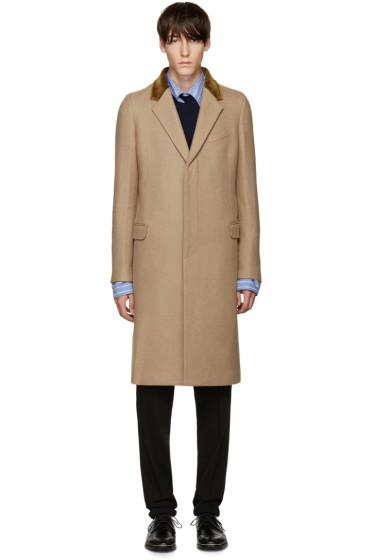 Alexander McQueen - Tan Wool Coat