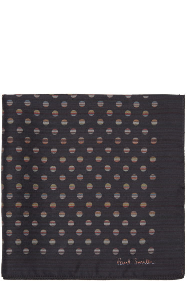 Paul Smith - Black Double Pocket Square