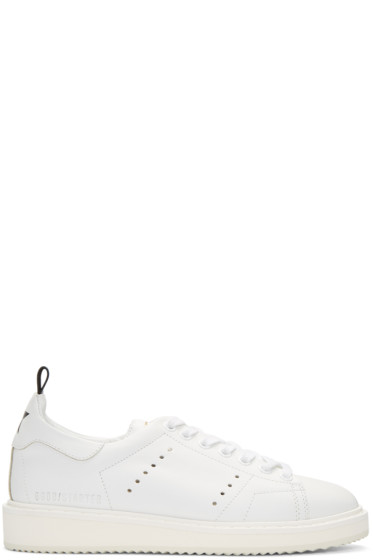 Golden Goose - White Starter Sneakers
