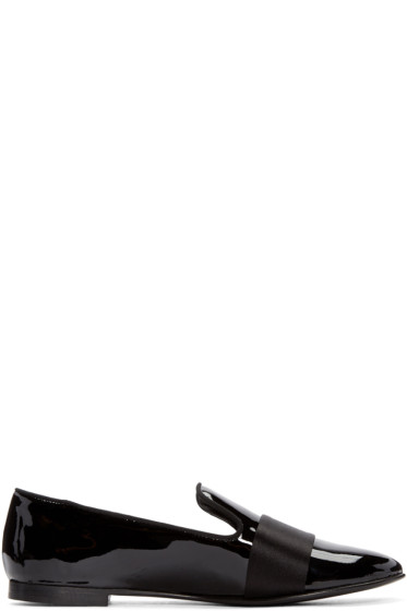 Giuseppe Zanotti - Black Patent Leather Loafers