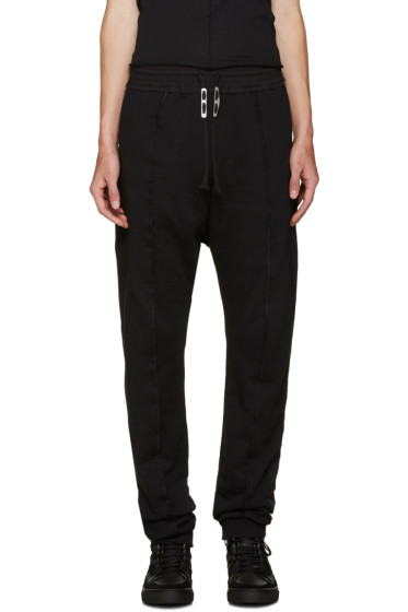 Damir Doma - Black Pascal Lounge Pants