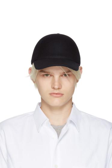 Comme des Garçons Shirt - Navy Felted Wool Cap