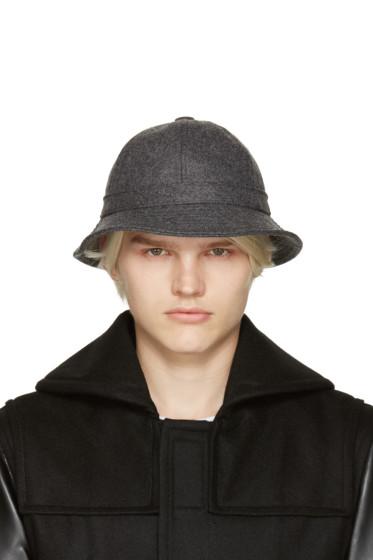 Comme des Garçons Shirt - Grey Wool Bucket Hat