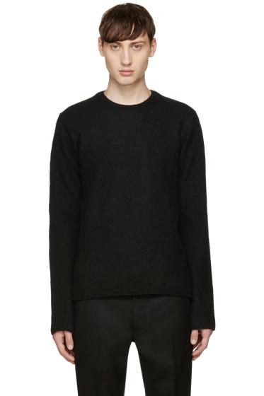 Comme des Garçons Shirt - Black Wool Crewneck